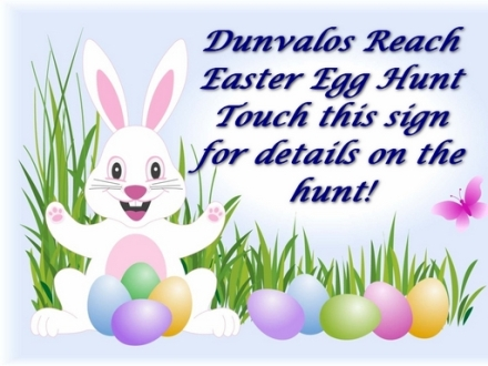 It's Easter Egg Hunt time on Dunvalos Reach sim right now. TWO levels with over thirty eggs hidden. Hints in the sign when you tp in.