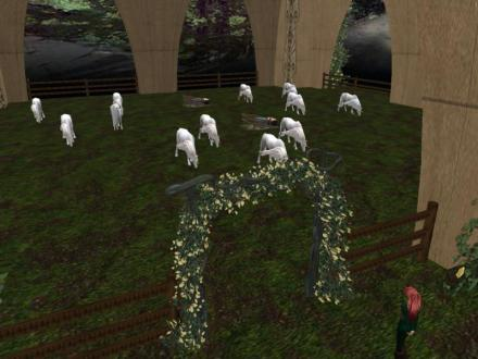 I have the live unicorns set for sale in it now. Designed a corral system to enclose it that I offer for sale too.